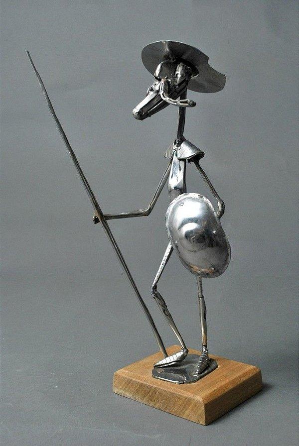 Escultura Dom Quixote 30