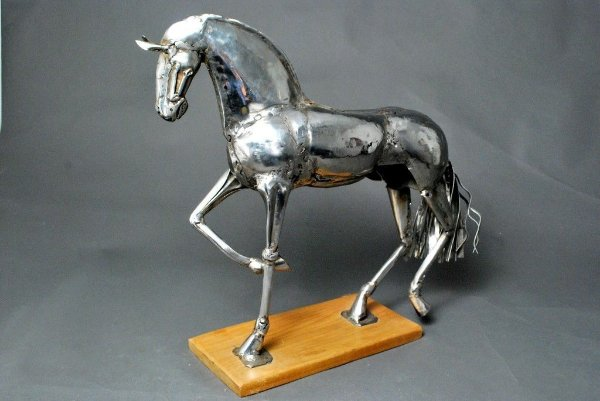 Escultura de cavalo