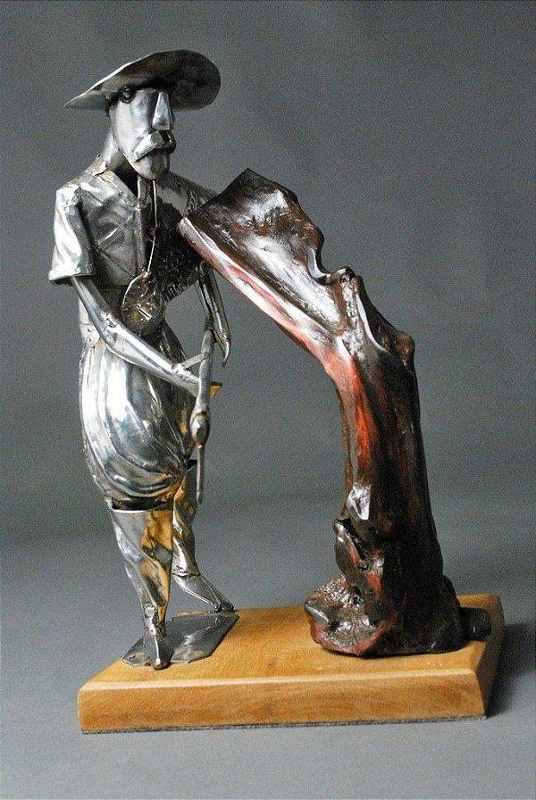 Escultura Gaúcho temático