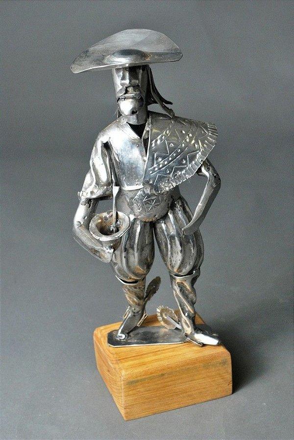 Escultura Gaúcho