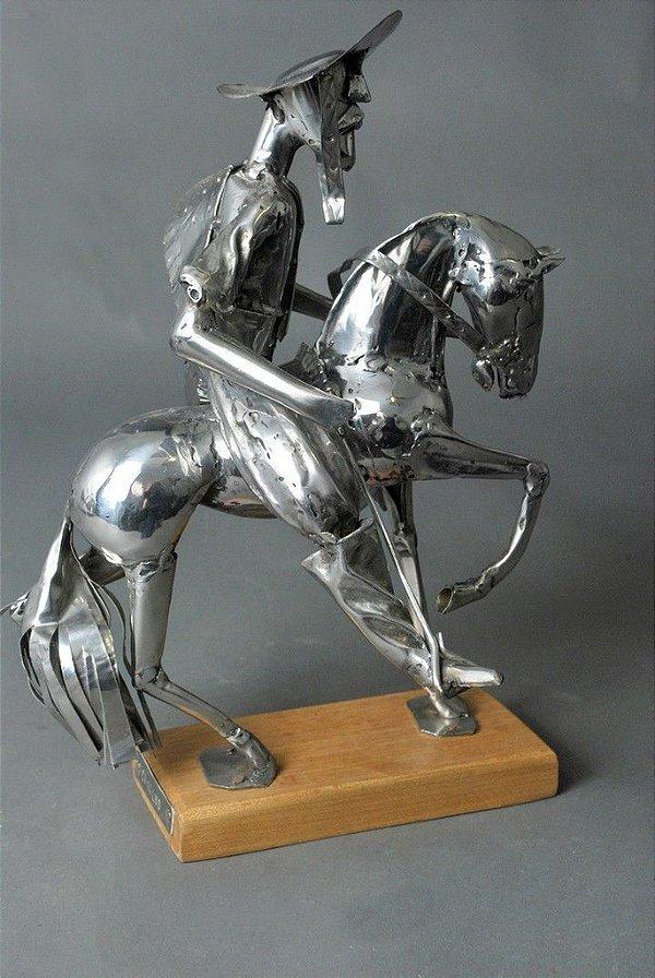 Escultura Gaúcho Ginete