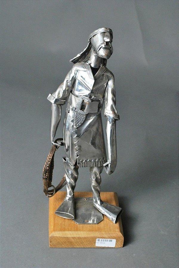 Escultura Laçador