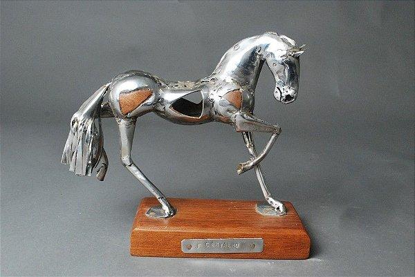 Escultura Cavalo Mosaico