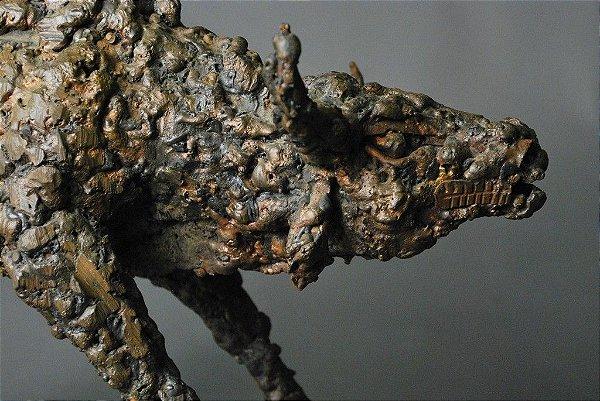 Escultura Touro em Cobre