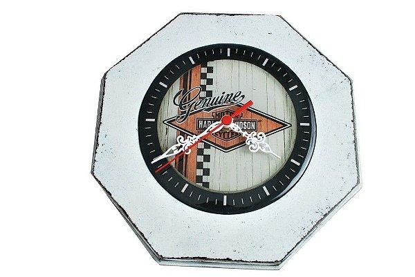 Relógio Harley Davidson Pátina