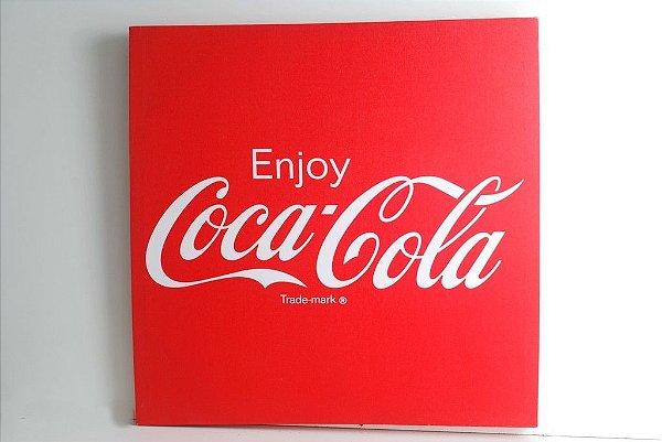 Tela impressa Coca-cola 50x50
