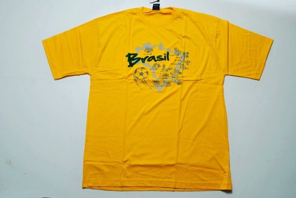 Camiseta Estampada do Brasil