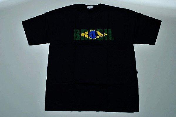 Camiseta Estampada do Brasil