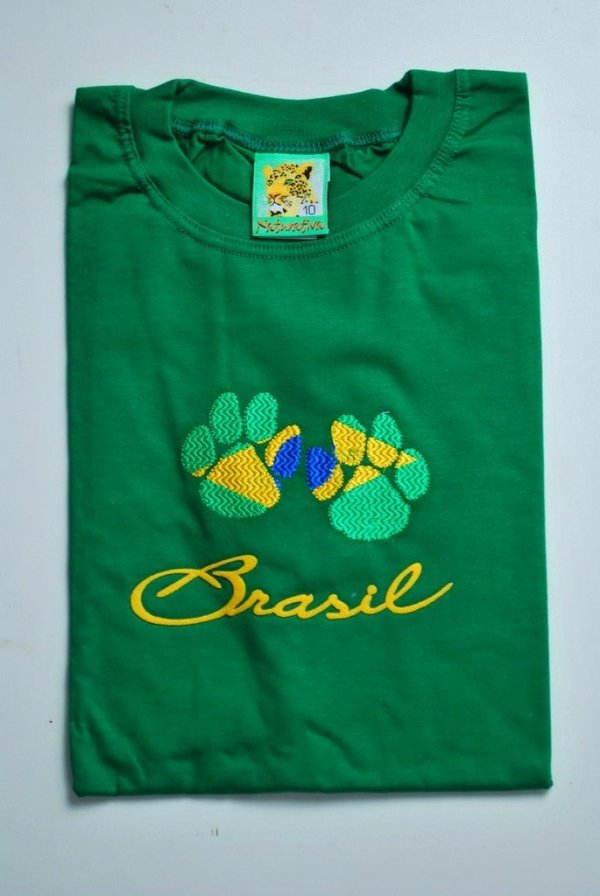 Camiseta infantil tamanho 10