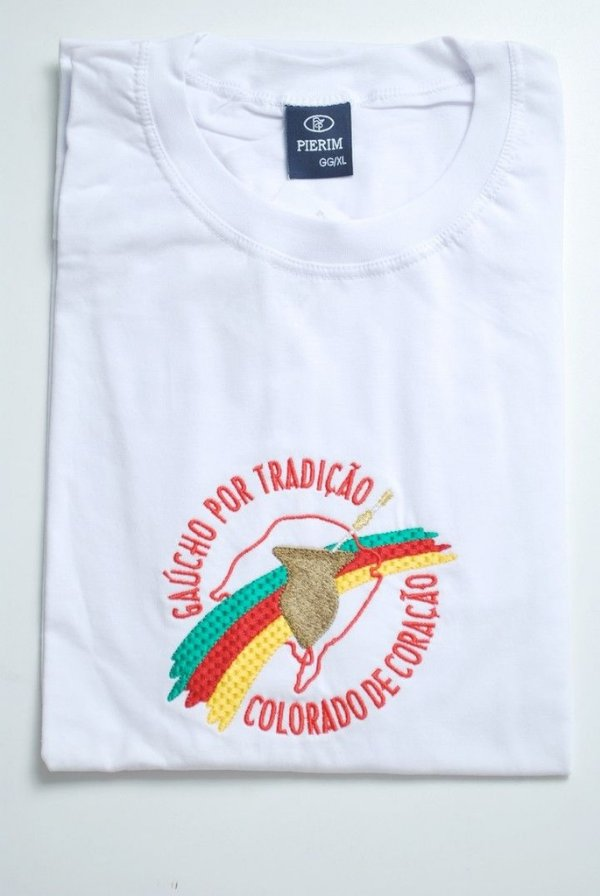 Camiseta bordada Rio Grande do Sul