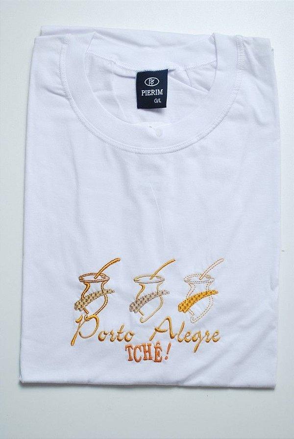 - Camiseta bordada do Rio Grande Do Sul