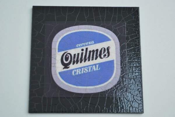 Porta copo individual -  Cerveja Quilmes