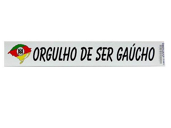 Adesivos 25cm x 4cm Orguho de ser Gaúcho - 207