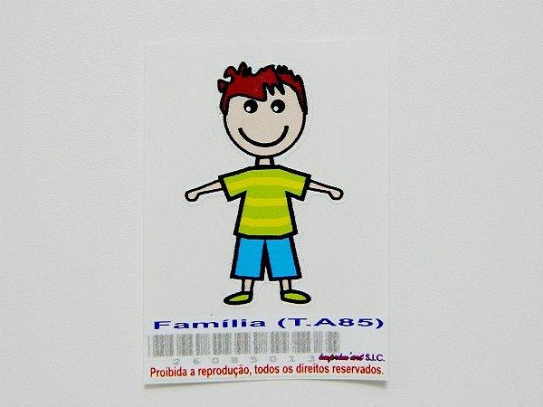Adesivo Família Masculino