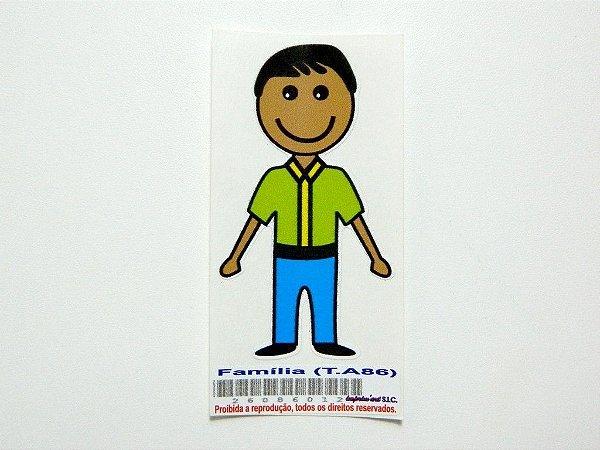Adesivo Família 7 ,5 cm