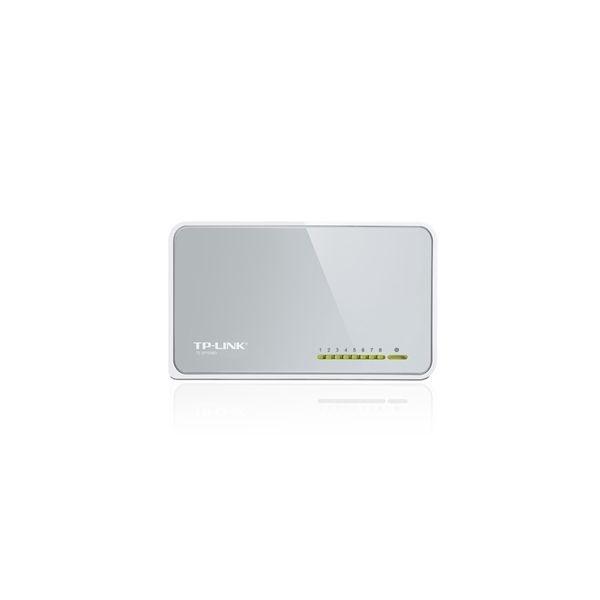 Switch De Mesa De 8 Portas De 10/100mbps TL-SF1008D