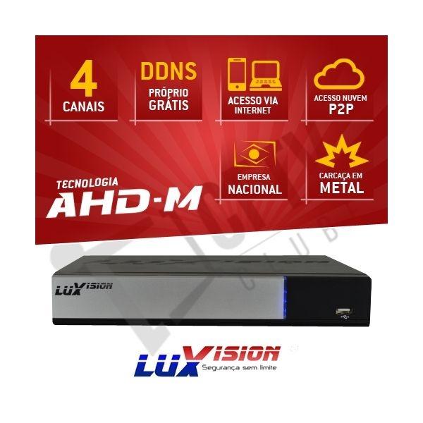 DVR AHD-M HÍBRIDO LUXVISION 4 CANAIS - HDMI