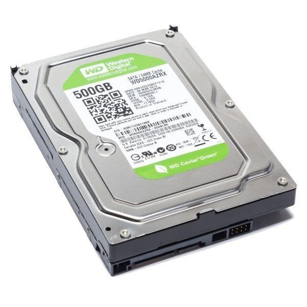 HD SATA WESTERN DIGITAL GREEN 500GB PARA DVR
