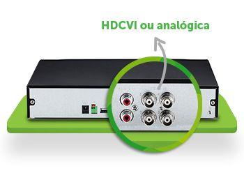 DVR MULTI HD INTELBRAS 4 CANAIS MHDX 1004