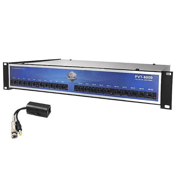 RACK POWER BALUN 8 CANAIS ORION HD8000