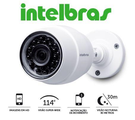 CÂMERA SEM FIO WI-FI INTELBRAS HD MIBO IC5