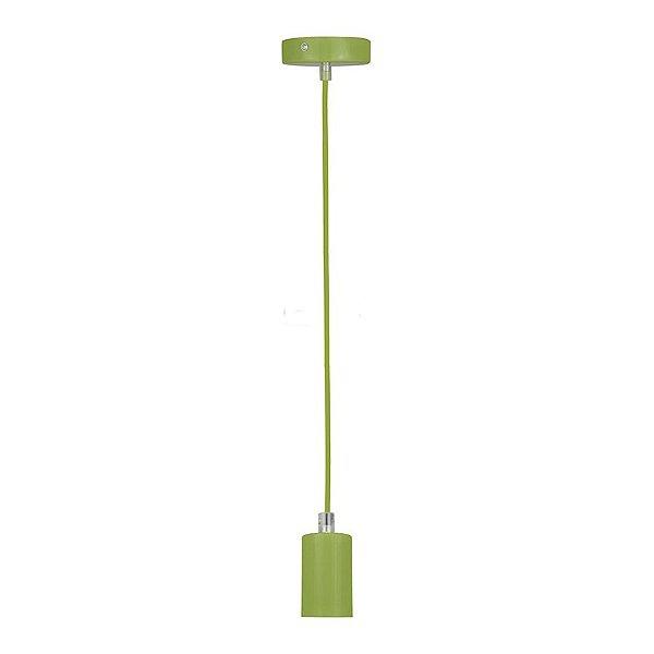 P14174A-Green – Pendente colorido verde - Atacadista - Premier Iluminação