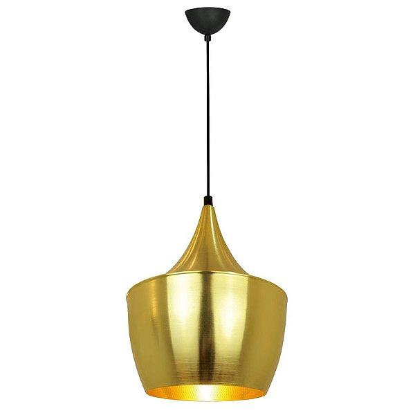 P662F-Gold - Pendente Alumínio Dourado-3 - Atacadista - Premier Iluminação