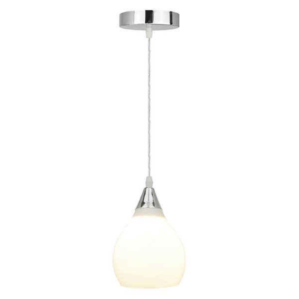 P16033-1 – Pendente vidro leitoso - Atacadista - Premier Iluminação