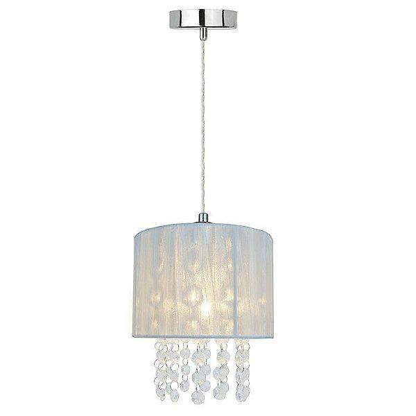 P16153-1 – Pendente fio tramado branco - Atacadista - Premier Iluminação