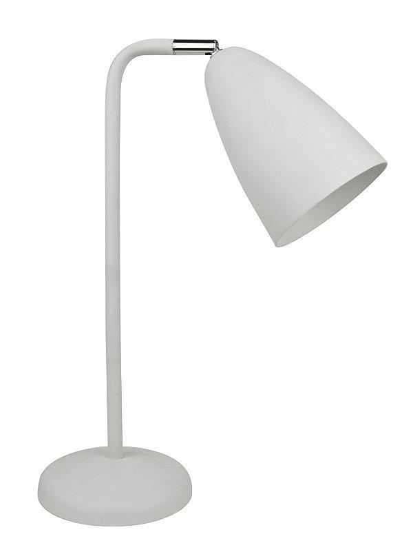 F14003-1T-White – Luminária branca cúpula móvel - Atacadista - Premier Iluminação