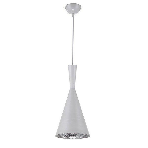 AL401 – Pendente Alumínio Branco-Prata-1 - Atacadista - Premier Iluminação