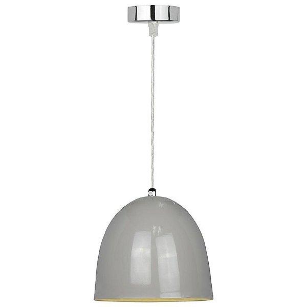 P110824-D30-Grey – Pendente metal cinza D30 - Atacadista - Premier Iluminação