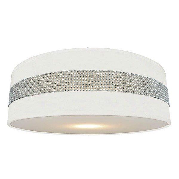 P14093B-3CL-White – Plafon branco faixa brilhante - Atacadista - Premier Iluminação