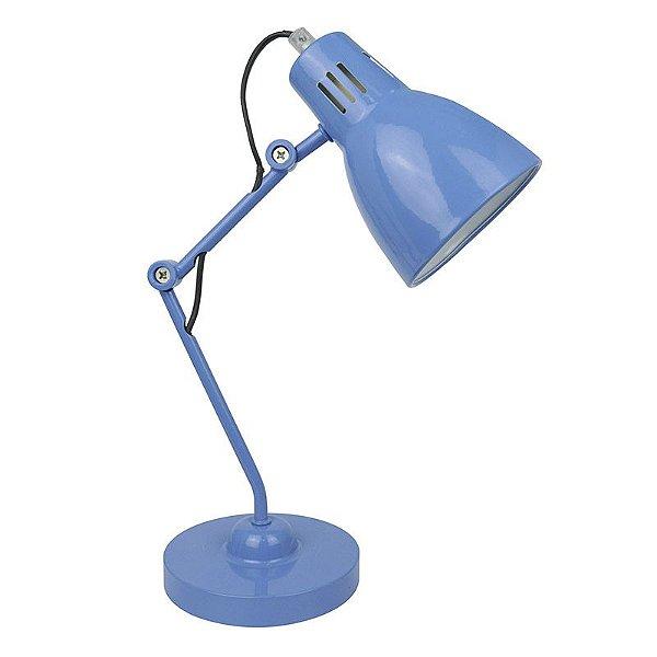 T14007-Blue – Luminária azul de metal - Atacadista - Premier Iluminação