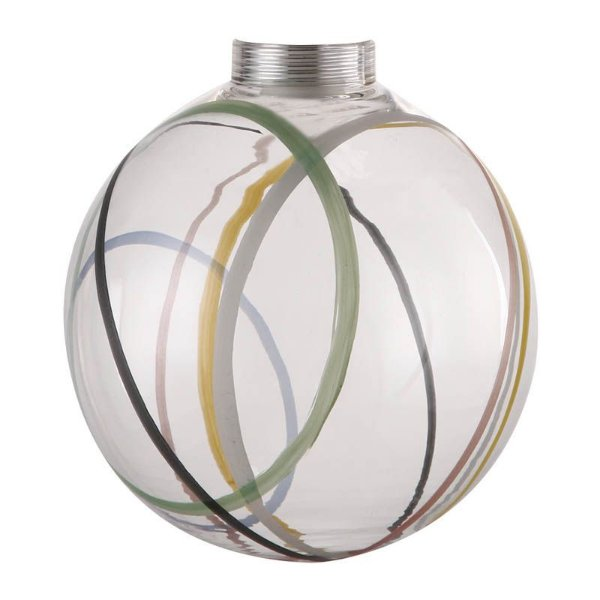 GL14 - Globo de vidro desenhado D12.5 - Atacadista - Premier Iluminação