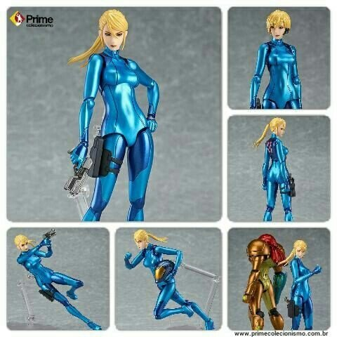 Samus Aran Zero Suit Metroid Figma Good Smile Company original