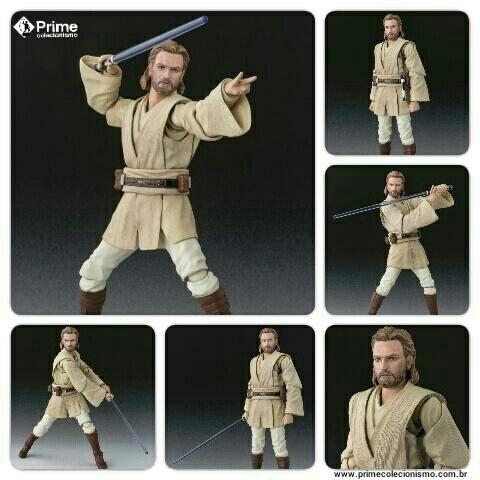 Obi-Wan Kenobi Star Wars O ataque dos Clones S.H. Figuarts original