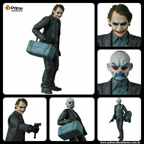 Joker Bank Robber ver. Batman The Dark Knight Mafex N015 Medicom Toy original