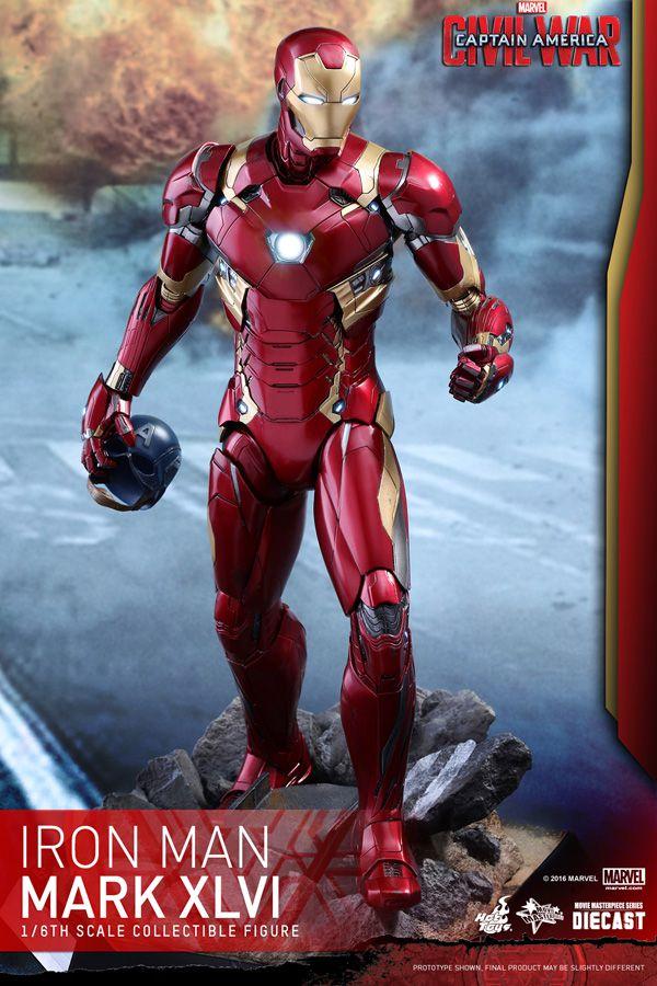 [ENCOMENDA] Iron Man Mark XLVI Hot Toys Original