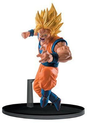Goku Super Sayajin 2 Dragon Ball Super Scultures 6 Banpresto original