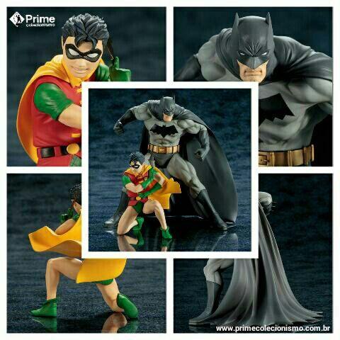 Batman e Robin DC Universe ARTFX+ 1/10 Kotobukiya Original