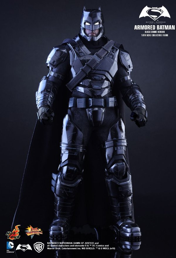 Batman Armored Batman V Superman: Dawn of justice Hot Toys Original Versão exclusiva