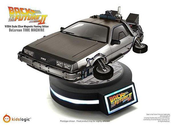 [ENCOMENDA] Delorean Back To The Future KidsLogic Magnetic Floating Original