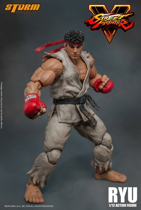 [ENCOMENDA] Ryu Street Fighter V Storm Collectibles Original