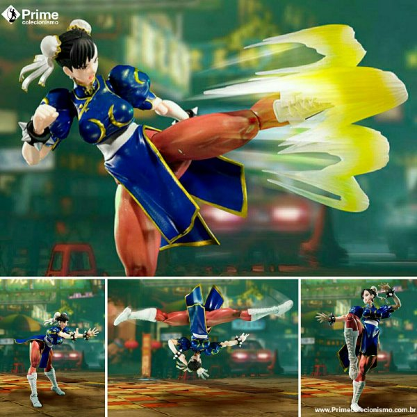Chun Li Street Fighter V S.H. Figuarts Bandai Original