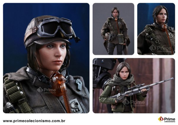 [ENCOMENDA] Jyn Erso Deluxe Edition Star Wars Rogue One Hot Toys Original