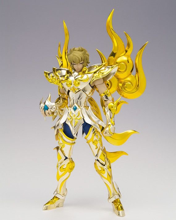 Leo Aiolia Cavaleiros do Zodiaco Saint Seiya Soul of Gold Bandai Cloth Myth EX Original