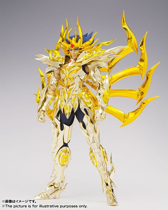 Mascara da Morte Cavaleiros do Zodiaco Saint Seiya Soul of Gold Bandai Cloth Myth EX Original