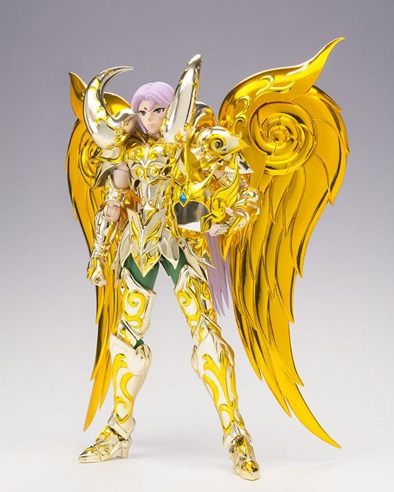 Mu Aries Cavaleiros do Zodiaco Saint Seiya Soul of Gold Bandai Cloth Myth EX Original