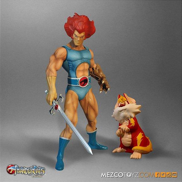 [ENCOMENDA] Lion-o & Snarf Thundercats Classic Mega-Scale Mezco Toyz Original